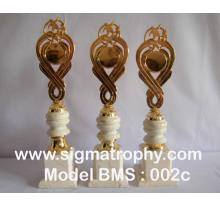 Harga trophy Murah, Daftar Harga Trophy, Katalog Harga trophy, Harga Trophy Bandung- BMS-002c