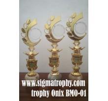 Trophy Onix ,jual trophy onix,jual piala Onix,Jual piala batu onix – BMO -001