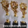 Sentral pengrajin piala crystal,piala crystal Tulungagung ,Jual Trophy Crystal- BRC-001a