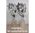 Trophy wisuda ,trophy marmer wisuda,trophy silver,trophy berfigure silver