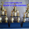 Pusat Trophy Marmer,Pusat Trophy Murah, Produsen Piala Kaki Dua – DBW-001