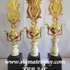 Pangkalan Piala Trophy Dengan Sparepart Cangkir Aladin Unik