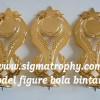 Trophy/Piala Versi New, Sedia Trophy Varian Bola Bintang, Jual Trophy Mewah