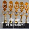 Trophy dan Piala Set 5  ,Distributor Piala Murah