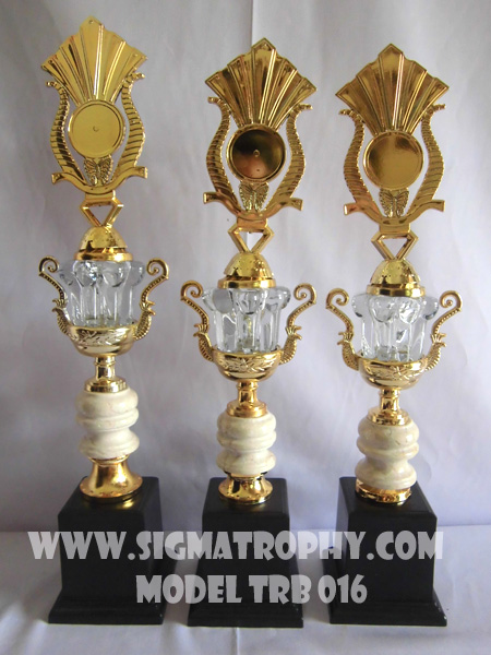 Koleksi trophy Set -Piala Set Marmer