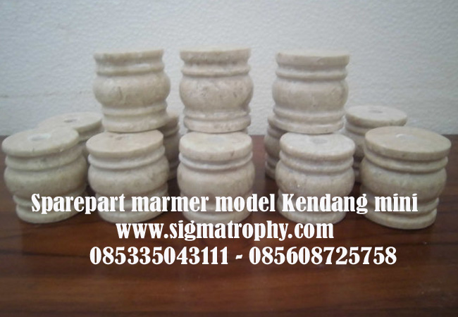 Sparepart Trophy marmer,Spare part piala onix kendang mini