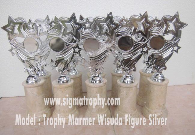 Trophy wisuda ,trophy marmer wisuda,trophy silver,  trophy berfigure silver trophy wisuda