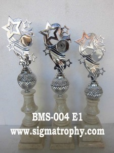 Tempat Pembuatan Trophy Murah dan Lengkap - Harga Piala Marmer 1 Set BMS 004 E1
