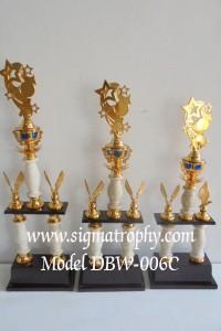 Order Trophy Bervarian Unik, Jual Piala Custom, Agen Trophy Murah, Trophy Kaki 2
