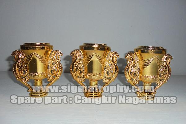 Cangkir Naga Emas, Distributor Spare-part Piala , Agen Spare-part trophy