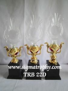Piala Trophy Crystal - TRB 22 D
