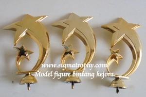 c. Figur Trophy Bintang Agen Figure Trophy