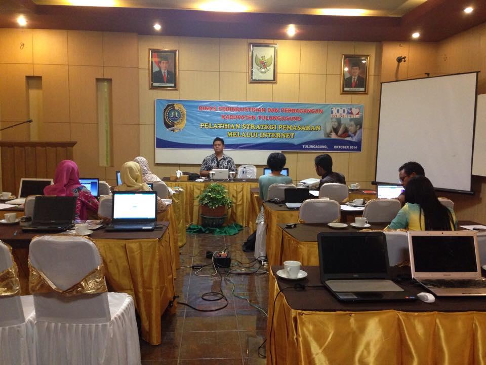 Antusias Peserta Pelatihan UMKM Goes Online Tulungagung