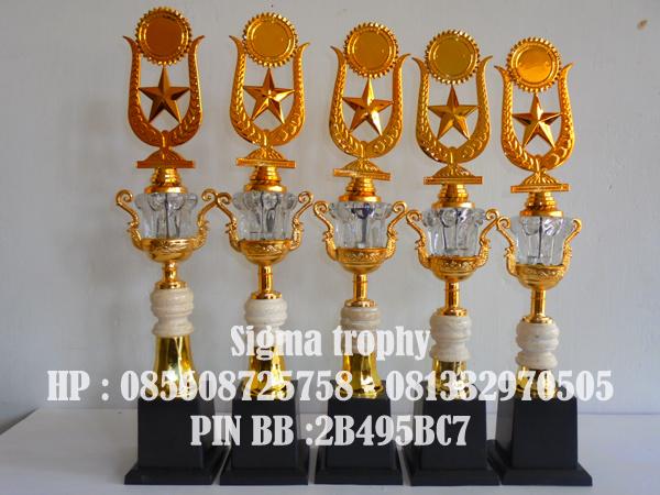 Distributor Piala murah Trophy dan Piala Set 5, Distributor Piala Murah
